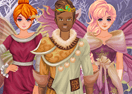 Dress Up Winter Fairies and Elves
