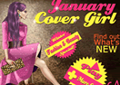 January Cover Girl