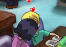 Kiss In A Library