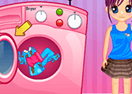 Peppy's Washing Clothes