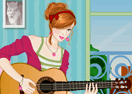 Romantic Guitar Girl Dress Up