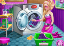 Super Barbie Washing Capes