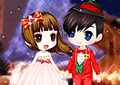 Christmas Wedding Dress Up 2