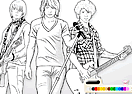 Coloring Jonas Brothers