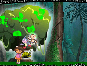 Jogo da  Dora Jungle Escape