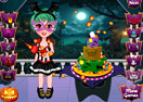 Princess Halloween Cake