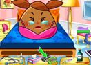 Pou Girl Flu Care