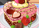 Sweety Heart Cake