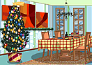 Christmas Dining Room - Deck the Halls
