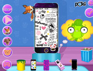 littlest pet shop phone decor no click jogos