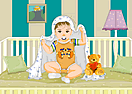 Baby on Crib Dress Up