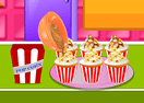 Cupcake Party: Toffee Popcorn Cupcakes