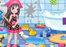 Cleaning Time! Sleepover