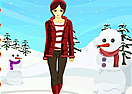 Christmas in Winter Dress Up