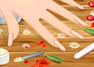 Nail Manicure at Spa