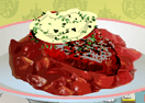 Beef Medallions with Fresh Horse Radish Cream